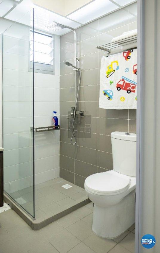 Contemporary, Modern, Scandinavian Design - Bathroom - HDB 3 Room - Design by Omus Living