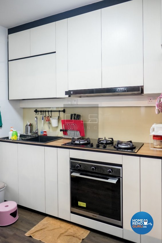 Contemporary, Modern Design - Kitchen - HDB 4 Room - Design by Omus Living