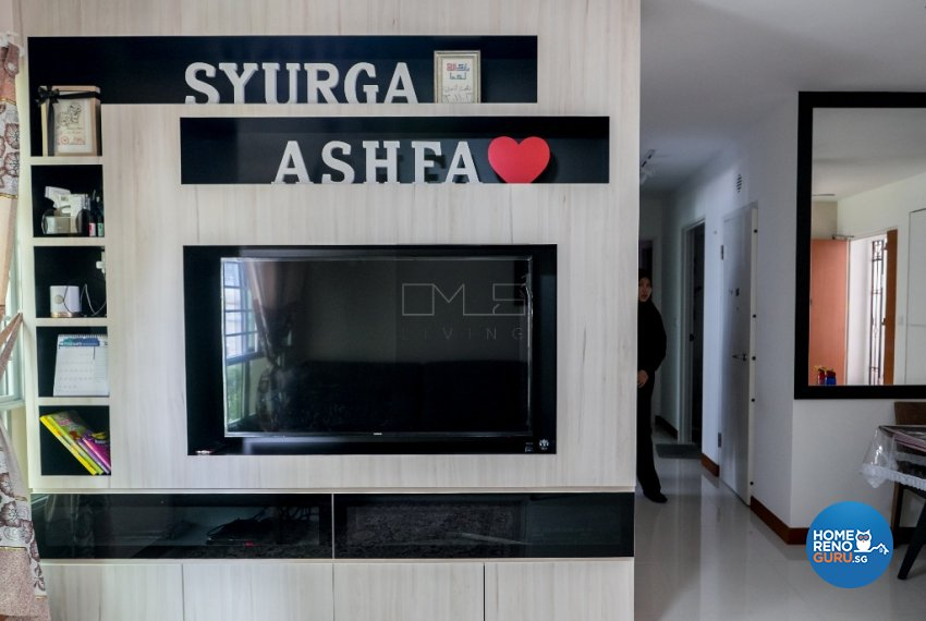 Contemporary, Minimalist Design - Living Room - HDB 4 Room - Design by Omus Living