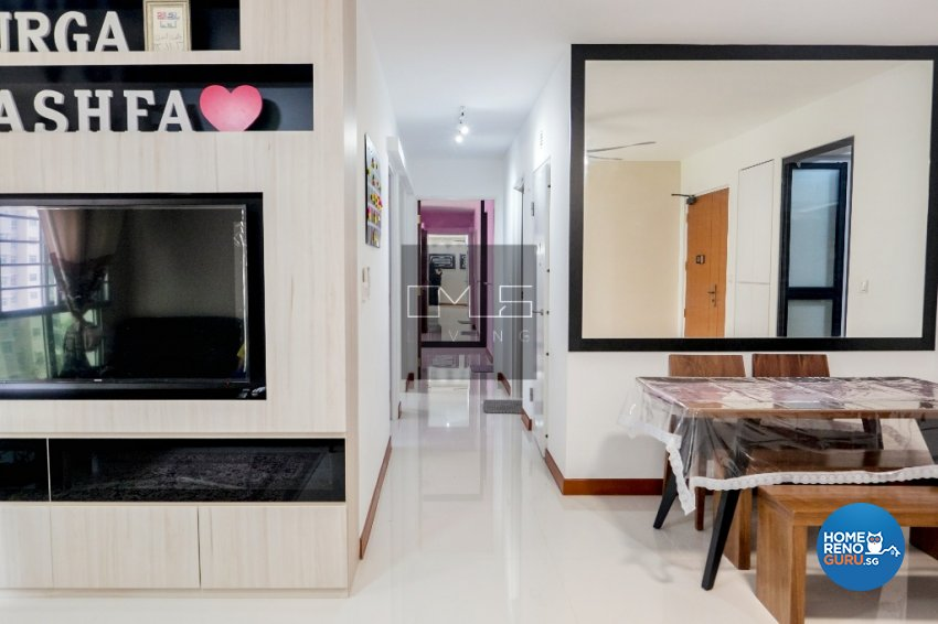 Contemporary, Minimalist Design - Kitchen - HDB 4 Room - Design by Omus Living