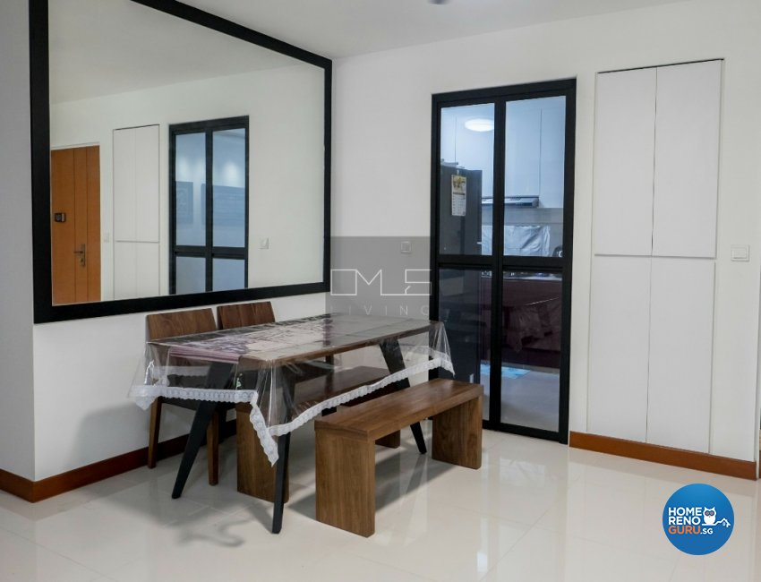 Contemporary, Minimalist Design - Dining Room - HDB 4 Room - Design by Omus Living