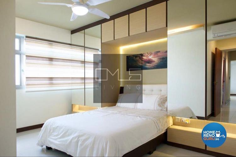 Contemporary, Modern Design - Bedroom - HDB 4 Room - Design by Omus Living
