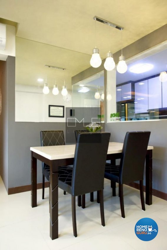 Contemporary, Modern Design - Dining Room - HDB 4 Room - Design by Omus Living