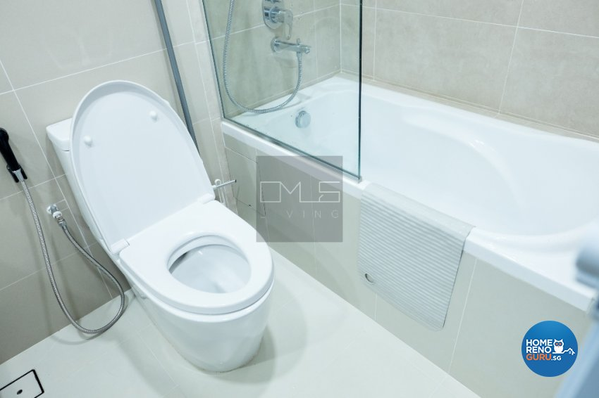 Contemporary, Modern Design - Bathroom - HDB 4 Room - Design by Omus Living