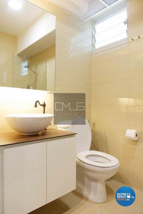 Minimalist, Modern Design - Bathroom - HDB 5 Room - Design by Omus Living