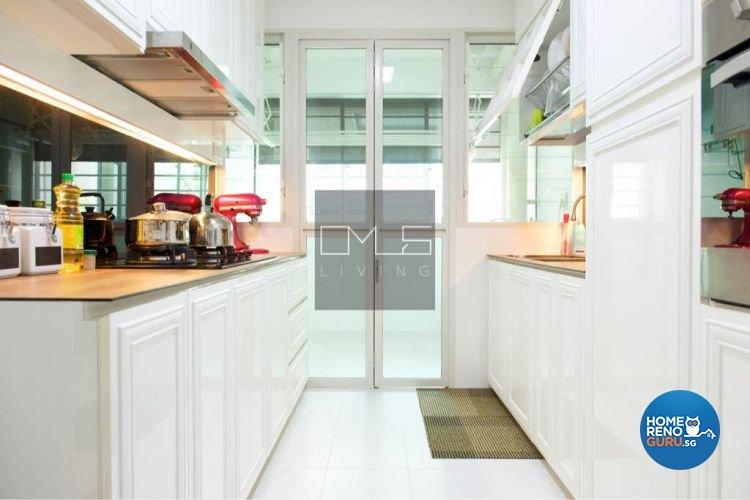 Minimalist, Modern Design - Kitchen - HDB 5 Room - Design by Omus Living