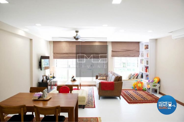 Minimalist, Modern Design - Living Room - HDB 5 Room - Design by Omus Living