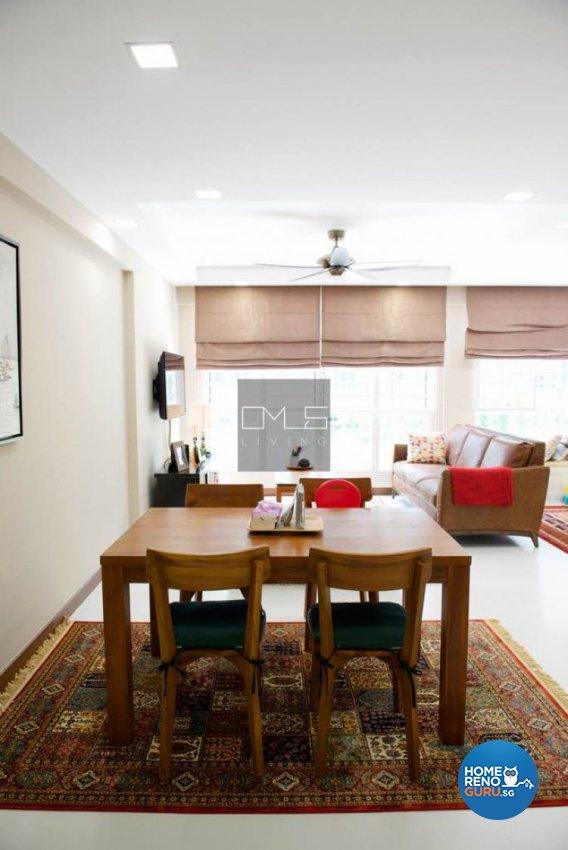 Minimalist, Modern Design - Dining Room - HDB 5 Room - Design by Omus Living
