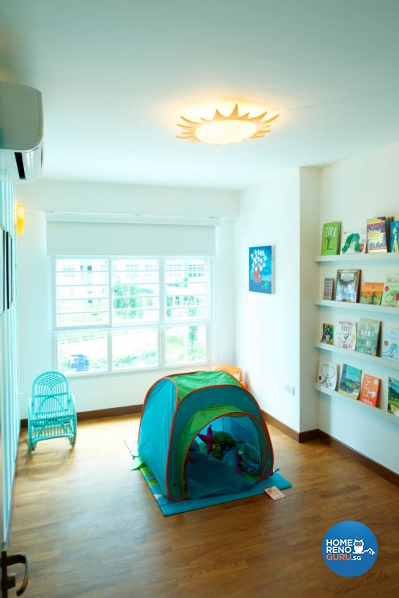 Minimalist, Modern Design - Bedroom - HDB 5 Room - Design by Omus Living