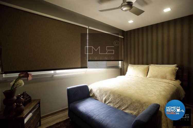 Contemporary, Rustic Design - Bedroom - HDB Executive Apartment - Design by Omus Living