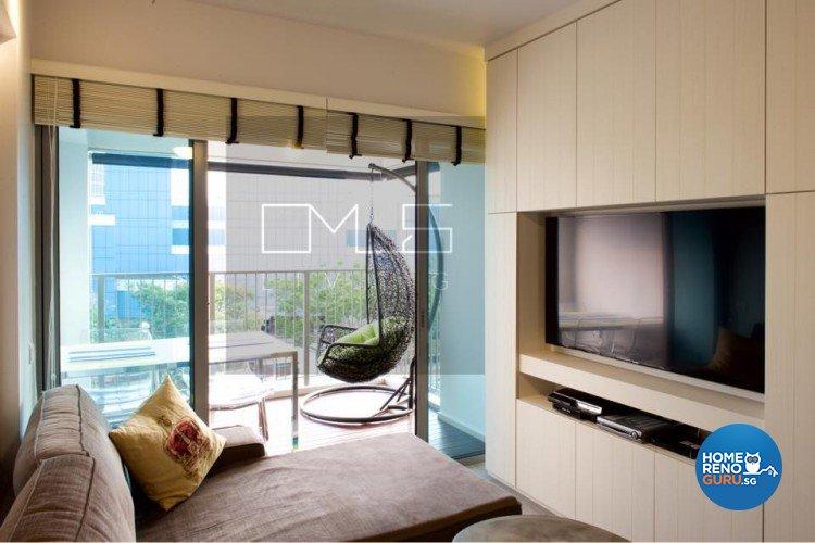 Contemporary, Minimalist, Scandinavian Design - Balcony - HDB 3 Room - Design by Omus Living