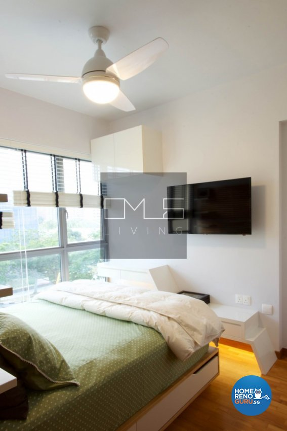Contemporary, Minimalist, Scandinavian Design - Bedroom - HDB 3 Room - Design by Omus Living