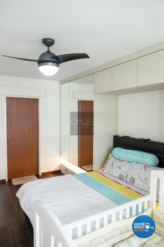 Contemporary, Modern Design - Bedroom - HDB 4 Room - Design by Omus Living