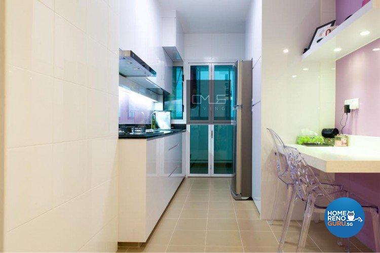 Minimalist, Modern Design - Kitchen - HDB 4 Room - Design by Omus Living
