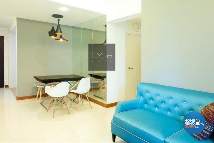 Minimalist, Modern Design - Dining Room - HDB 4 Room - Design by Omus Living