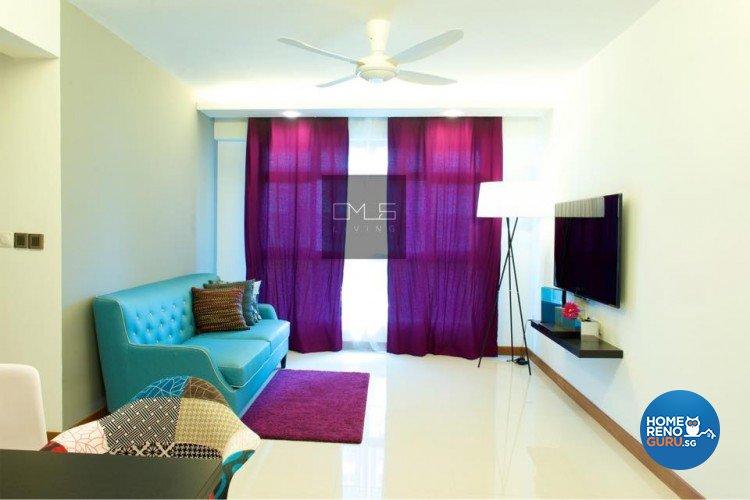 Minimalist, Modern Design - Living Room - HDB 4 Room - Design by Omus Living