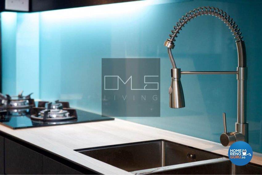 Contemporary, Modern Design - Kitchen - HDB 4 Room - Design by Omus Living