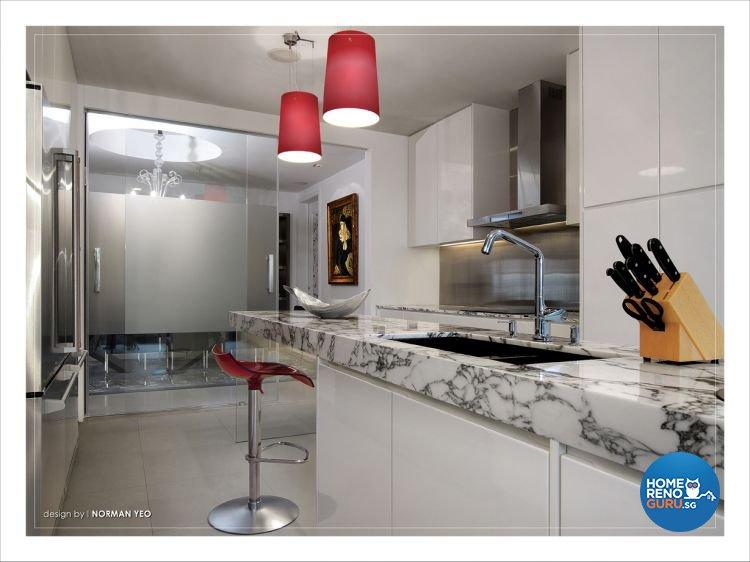 Contemporary, Modern Design - Kitchen - Condominium - Design by One Stop Concept