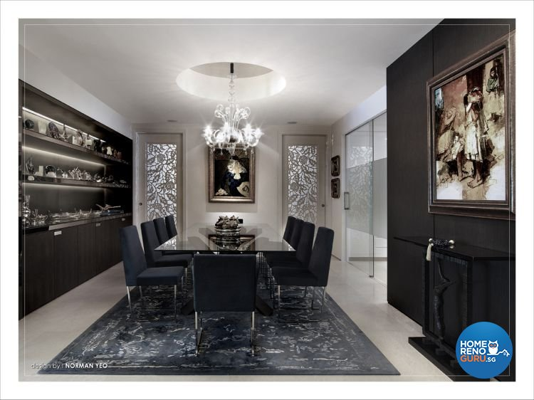 Contemporary, Modern Design - Dining Room - Condominium - Design by One Stop Concept