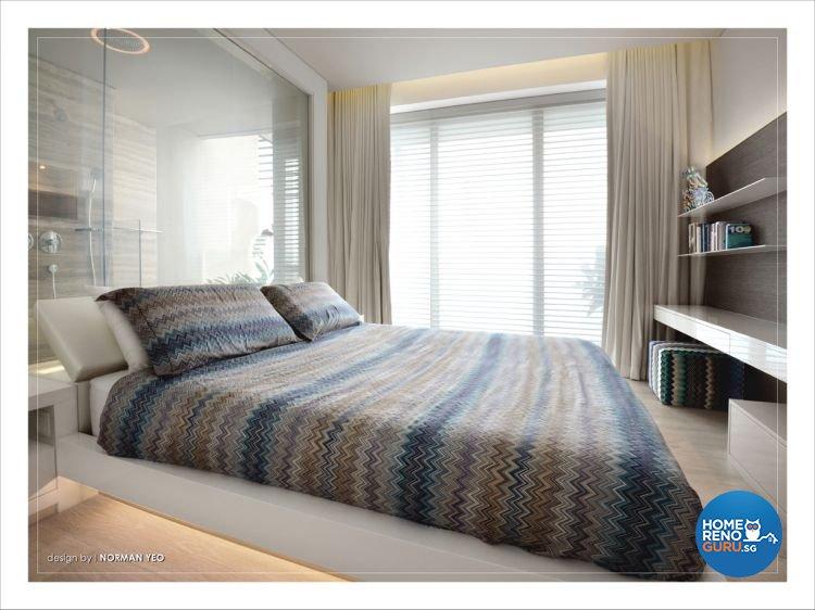 Contemporary, Modern Design - Bedroom - Condominium - Design by One Stop Concept