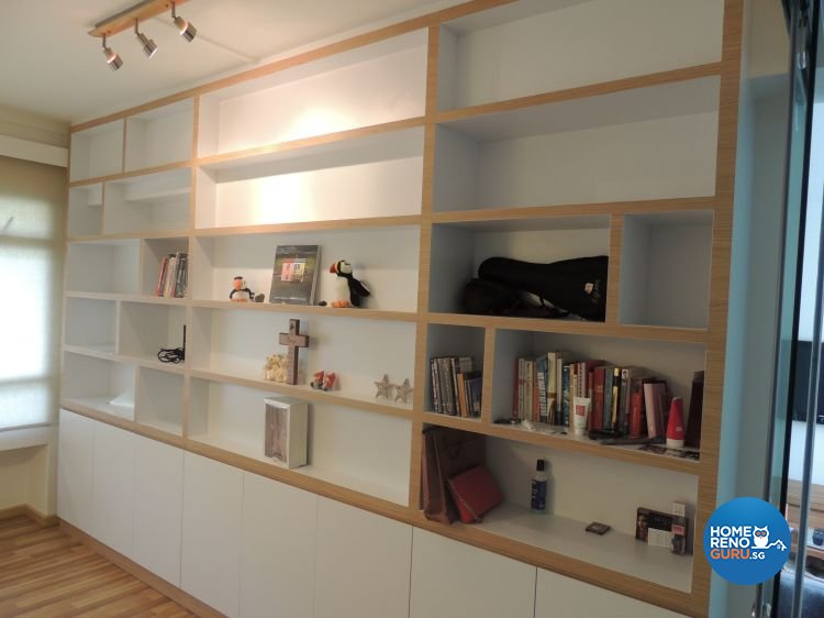 Contemporary, Minimalist Design - Entertainment Room - HDB 5 Room - Design by Orient Reno