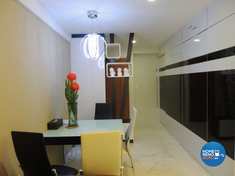 Contemporary, Minimalist Design - Dining Room - HDB 5 Room - Design by Orient Reno