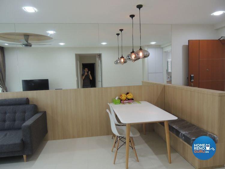 Contemporary, Minimalist Design - Dining Room - HDB 5 Room - Design by Orient Reno
