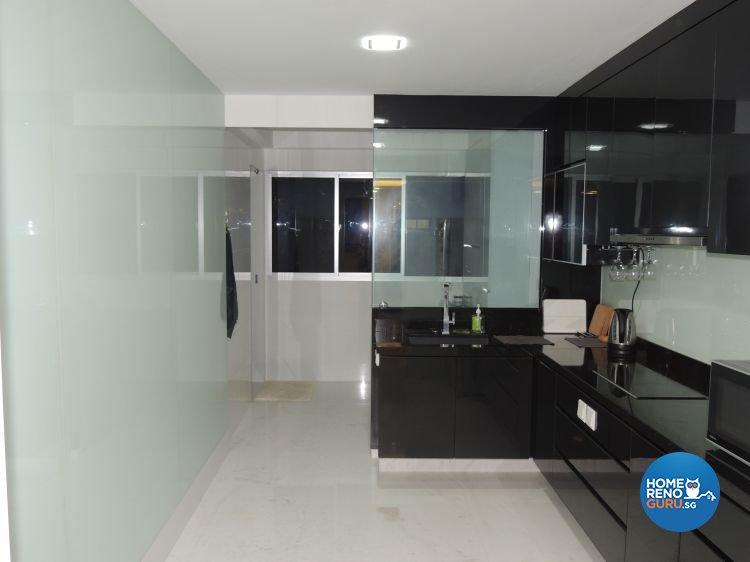 Contemporary, Minimalist Design - Kitchen - HDB 5 Room - Design by Orient Reno