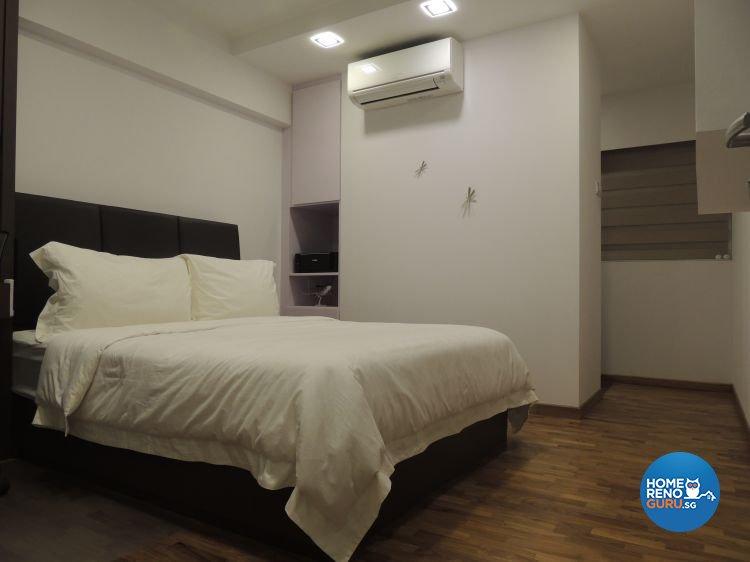 Contemporary, Minimalist Design - Bedroom - HDB 5 Room - Design by Orient Reno