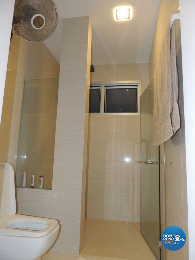 Contemporary, Minimalist Design - Bathroom - HDB 5 Room - Design by Orient Reno