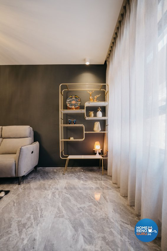 Classical Design - Living Room - HDB 5 Room - Design by Ottotto Pte Ltd