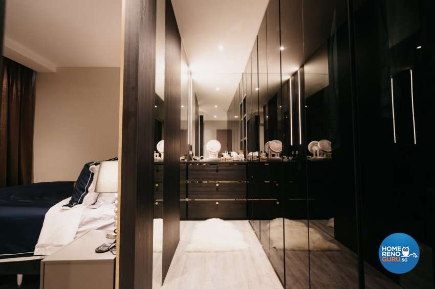 Classical Design - Bedroom - HDB 5 Room - Design by Ottotto Pte Ltd