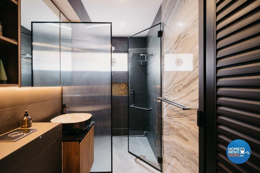 Classical Design - Bathroom - HDB 5 Room - Design by Ottotto Pte Ltd