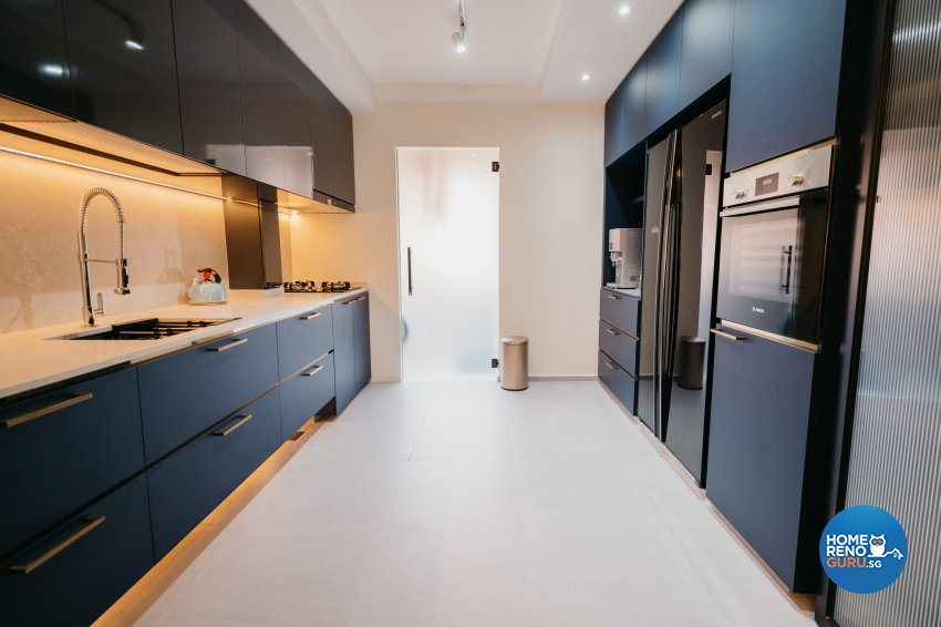 Classical Design - Kitchen - HDB 5 Room - Design by Ottotto Pte Ltd