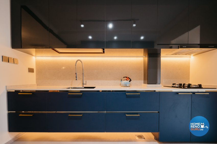 Classical Design - Kitchen - HDB 5 Room - Design by Ottotto Pte Ltd