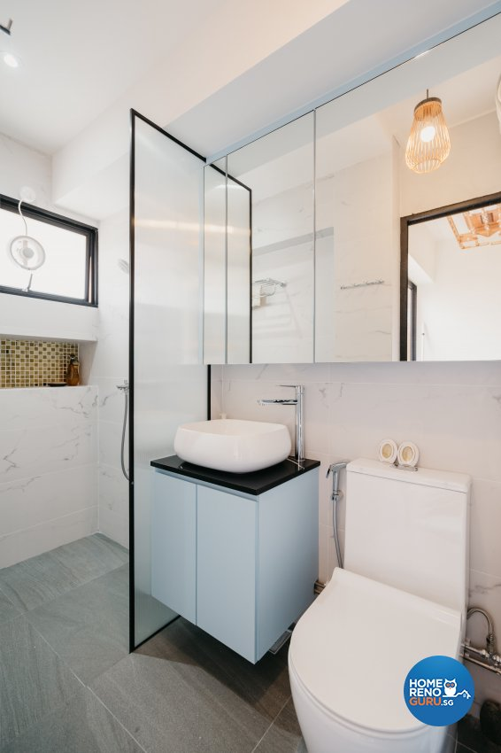 Classical Design - Bathroom - HDB 5 Room - Design by Ottotto Pte Ltd