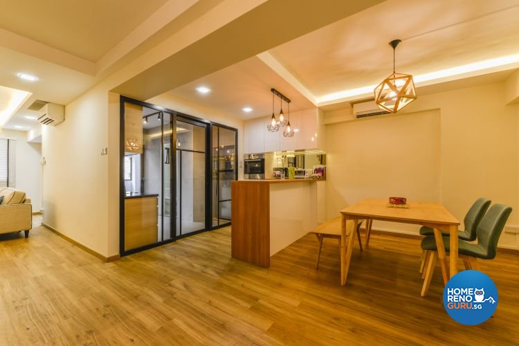 Contemporary, Minimalist, Scandinavian Design - Dining Room - Others - Design by Outlook Interior Pte Ltd