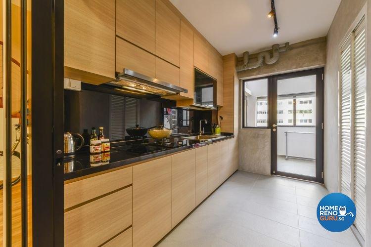 Contemporary, Minimalist, Scandinavian Design - Kitchen - Others - Design by Outlook Interior Pte Ltd