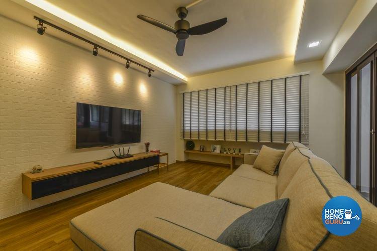 Contemporary, Minimalist, Scandinavian Design - Living Room - Others - Design by Outlook Interior Pte Ltd