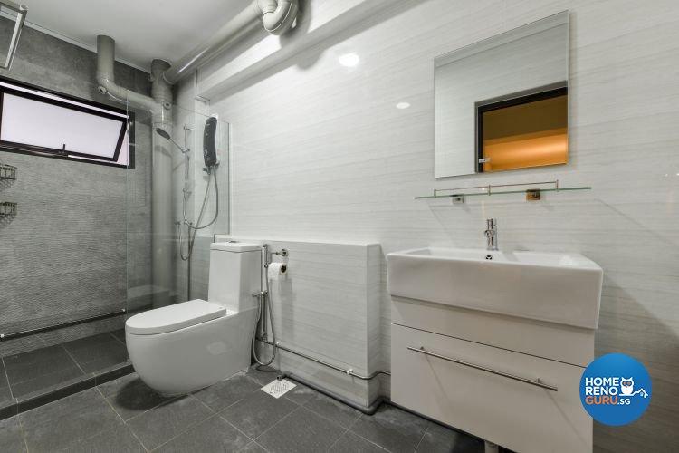 Contemporary, Minimalist, Scandinavian Design - Bathroom - Others - Design by Outlook Interior Pte Ltd