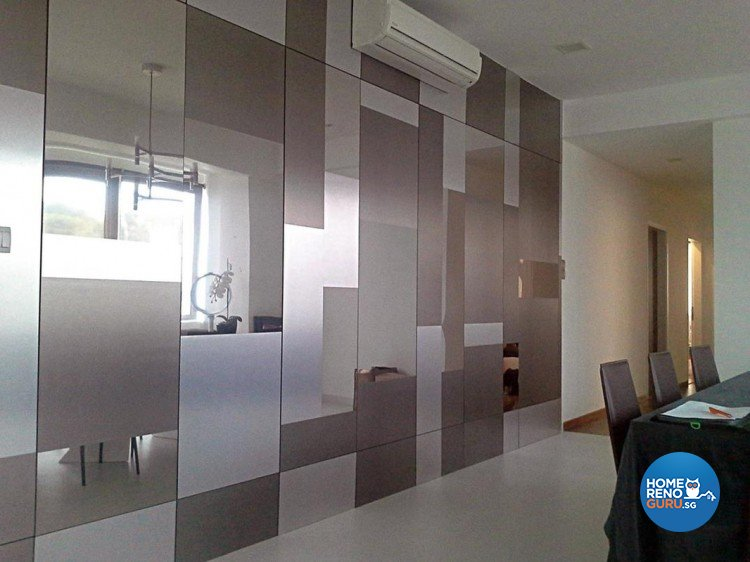 Contemporary, Minimalist Design - Dining Room - Condominium - Design by Palmwood Pte Ltd