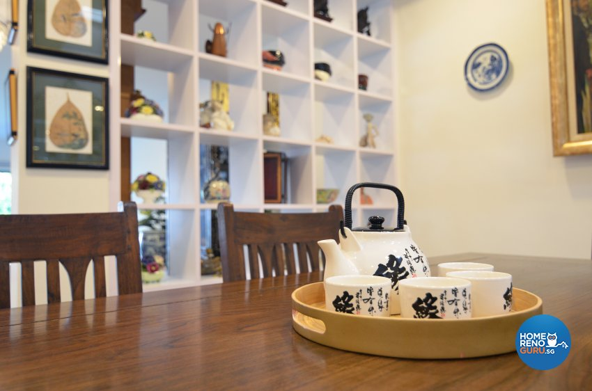 Resort Design - Dining Room - Landed House - Design by Palmwood Pte Ltd