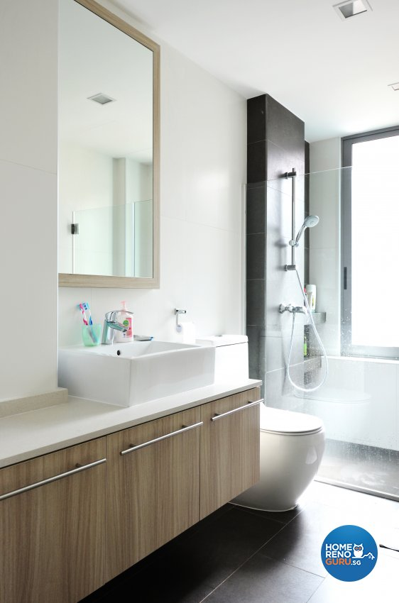Resort Design - Bathroom - Landed House - Design by Palmwood Pte Ltd