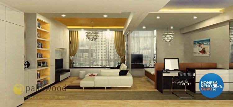 Contemporary, Modern Design - Living Room - Condominium - Design by Palmwood Pte Ltd
