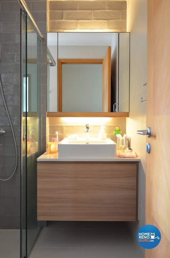 Contemporary Design - Bathroom - Condominium - Design by Palmwood Pte Ltd