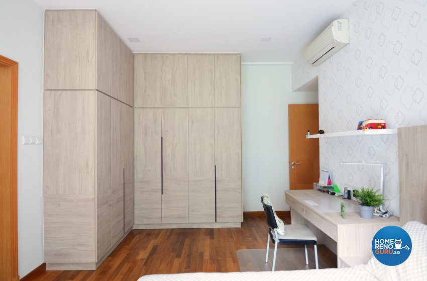 Contemporary Design - Bedroom - Condominium - Design by Palmwood Pte Ltd