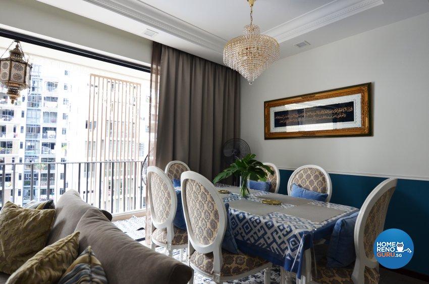 Contemporary Design - Living Room - Condominium - Design by Palmwood Pte Ltd