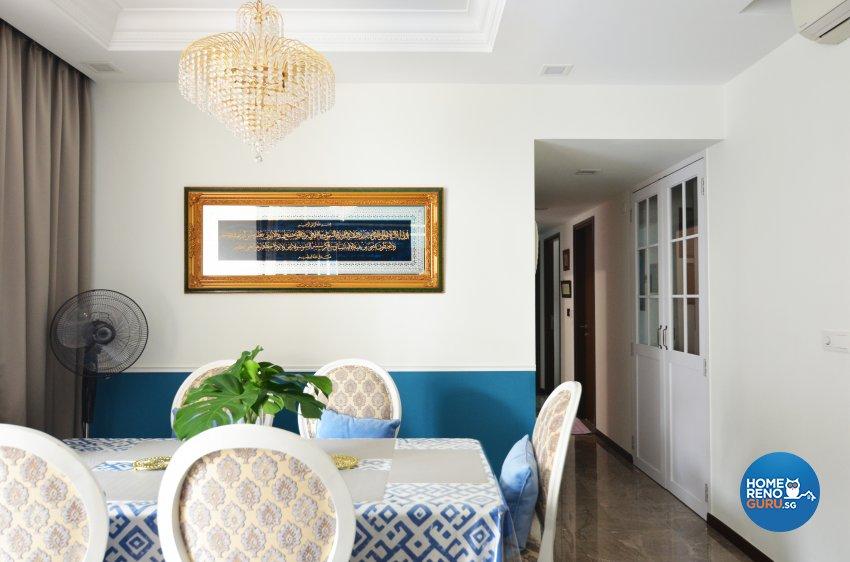 Contemporary Design - Dining Room - Condominium - Design by Palmwood Pte Ltd