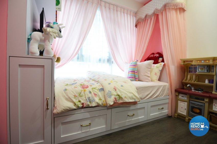 Contemporary Design - Bedroom - Condominium - Design by Palmwood Pte Ltd