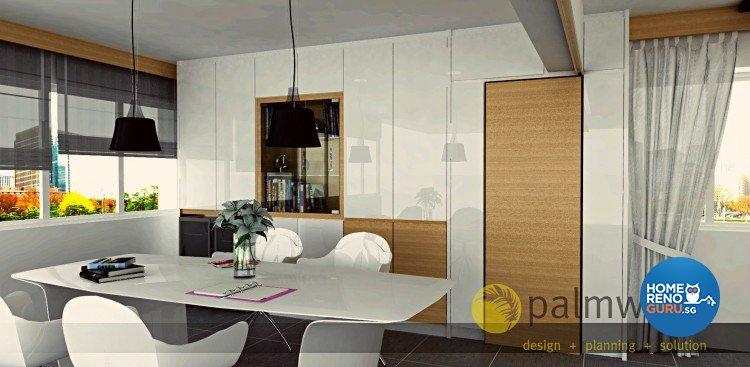 Contemporary, Minimalist, Scandinavian Design - Study Room - HDB 5 Room - Design by Palmwood Pte Ltd